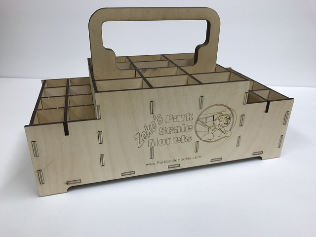 .50 Cal. Ammo Box Battery Caddy